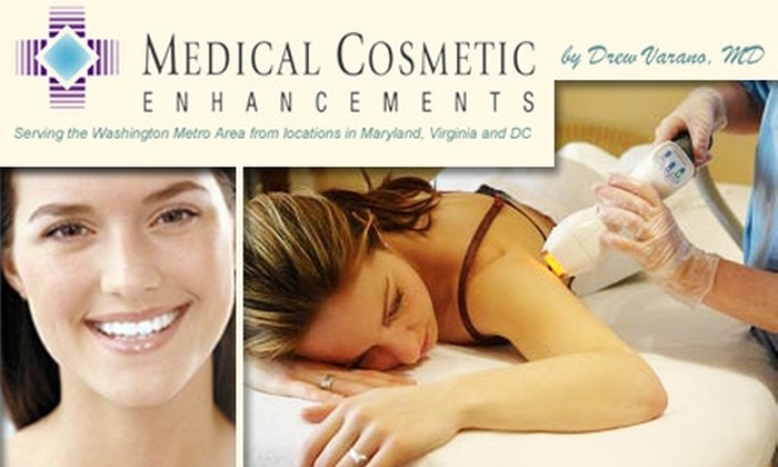 Medical Cosmetic - Bethesda: $185 for Three Laser Hair Removal Sessions at Medical Cosmetic Enhancements ($600 Value)