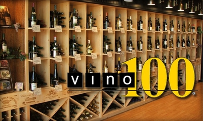 Vino 100 - Mount Airy: $10 for $20 Worth of Wine, Eats, and More at Vino 100