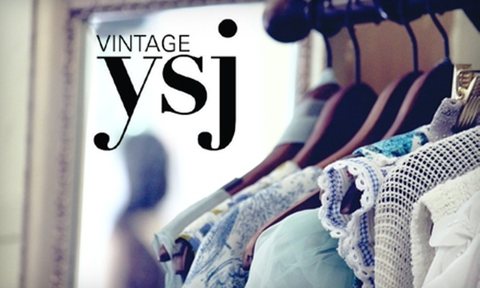 vintage ysj - Downtown: $15 for $40 Worth of Unique Clothing at vintage ysj