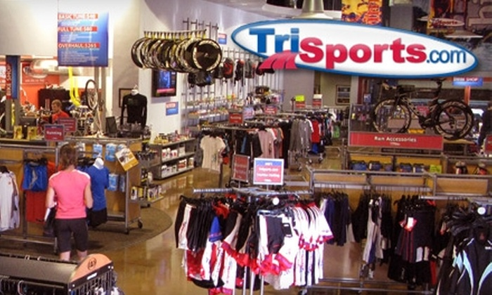 TriSports - Butterfield Business Center: $25 for $50 Worth of Shoes, Apparel, and More at TriSports