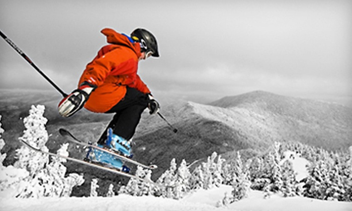 Smugglers' Notch - Cambridge: $39 for a Skiing Outing at Smugglers' Notch in Jeffersonville, Vermont (Up to $66 Value)