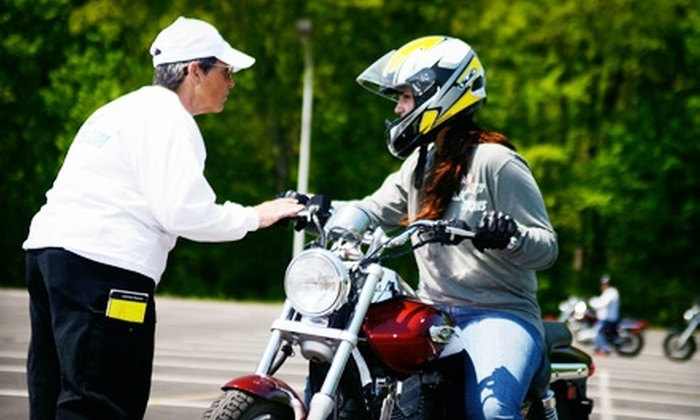 Motorcycle Safety School - Multiple Locations: Motorcycle Lesson or Introductory Class from Motorcycle Safety School