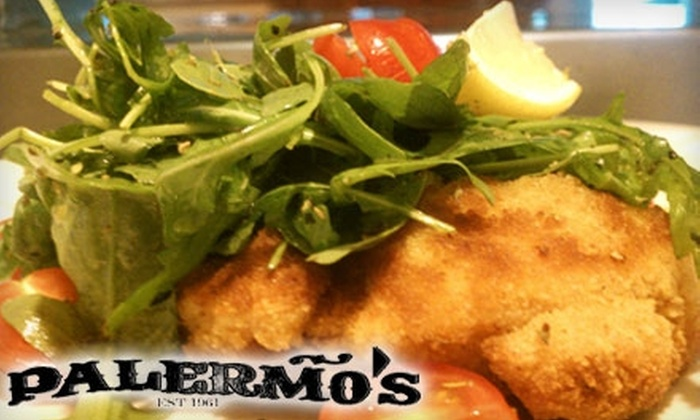 Palermo's Orland Park - Orland Park: $10 for $20 Worth of Pizza and More at Palermo's in Orland Park