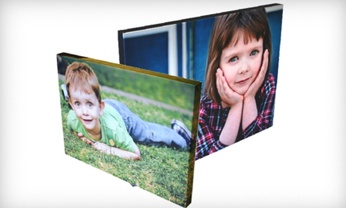 "West Canadian Digital Imaging - Inglewood: $55 for One 16""x20"" or 18""x18"" Gallery-Wrapped Canvas at West Canadian Digital Imaging ($115 Value)"