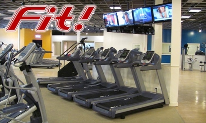 Fit! - Towson: $29 for Health Club and Gym Package at Fit! ($146 Value) in Towson