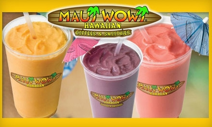 Maui Wowi - Sahuaro Ranch: $5 for $11 Worth of Hawaiian Coffee and Smoothies at Maui Wowi in Glendale