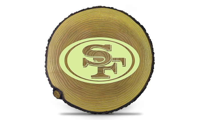 San Francisco 49ers Glow in the Dark Stepping Stump: San Francisco 49ers Glow in the Dark Stepping Stump