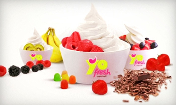 YoFresh - Springvale: Frozen Yogurt, Smoothies, and Bubble Tea at YoFresh (Half Off). Two Options Available.