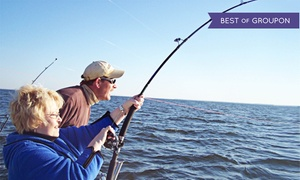 Chesapeake Bay Fishing Charters: $179 for an All-Inclusive Full-Day Fishing Trip for Two from Chesapeake Bay Sport Fishing ($300 Value)