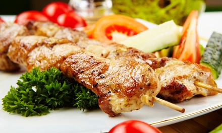 Chicken Shawarma Combo Meal for Two or Four at Crazy Ivans (Up to 50% Off)