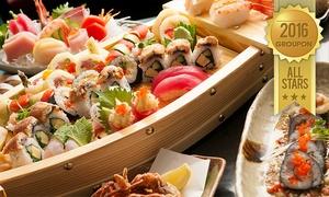 ניין בר מרינה הרצליה: 9bar, לאונג' בר-מסעדה במרינה הרצליה: ארוחת סושי ויין לזוג ב-139 ₪, או לרביעייה ב-269 ₪ בלבד! תפריט סושי עשיר, גם בשישי