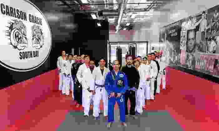 Carlson Gracie South Bay - Redondo Beach: 10 or 20 Brazilian Jujitsu Classes at Carlson Gracie South Bay (Up to 84% Off)