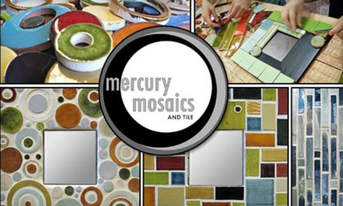 Mercury Mosaics - Northeast Park: $35 Mosaic Class at Mercury Mosaics