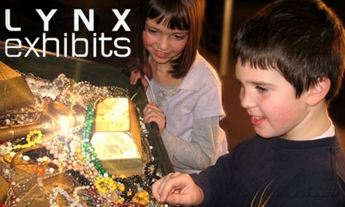 """Lynx Exhibits - Union Plaza: $10 for Two Admission Passes to """"Treasure!"""" at Lynx Exhibits (Up to $20 Value)"""