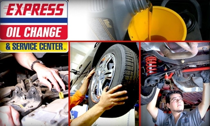 Express Oil Change & Service Center - Knoxville: $30 for a Full-Service Oil Change with Tire Rotation and Brake and Safety Inspection at Express Oil Change & Service Center ($99.45 Value)