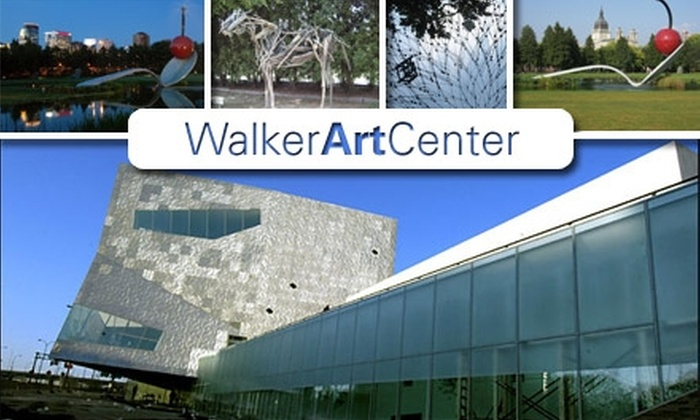 Walker Art Center - Lowry Hill: $35 for One-Year Dual Membership at Walker Art Center