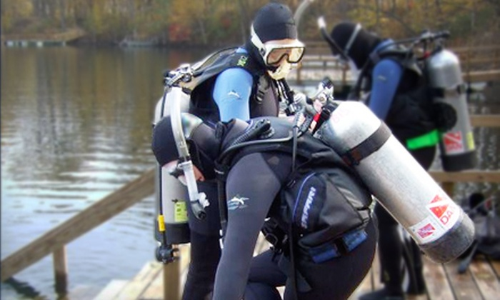 ZZ Underwater World - Lansing: Introductory Scuba Diving Lesson or Scuba Certification Course at ZZ Underwater World