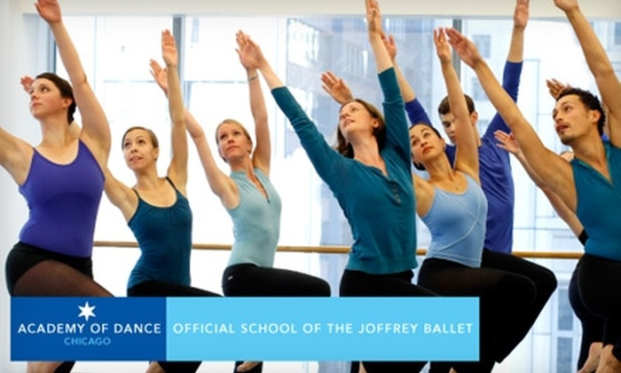 Joffrey Ballet - Loop: $35 for Five Adult Classes at the Academy of Dance, Official School of The Joffrey Ballet ($75 Value)