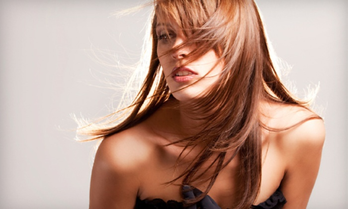 The Palms Salon & Spa - Norman: $50 for a Haircut and Color at The Palms Salon & Spa in Norman (Up to $130 Value)