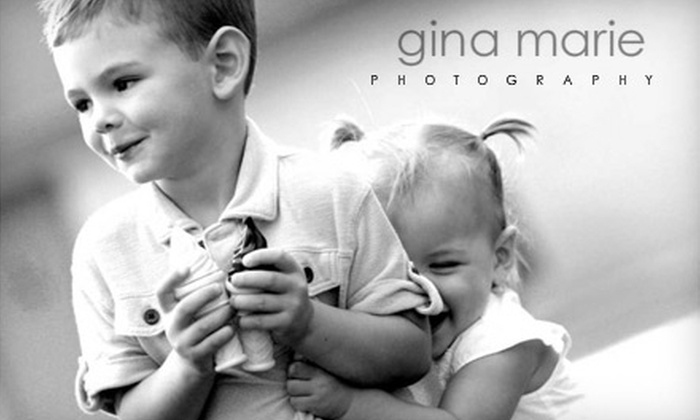 Gina Marie Photography - Boise: $49 Photo Package from Gina Marie Photography ($105 Value)