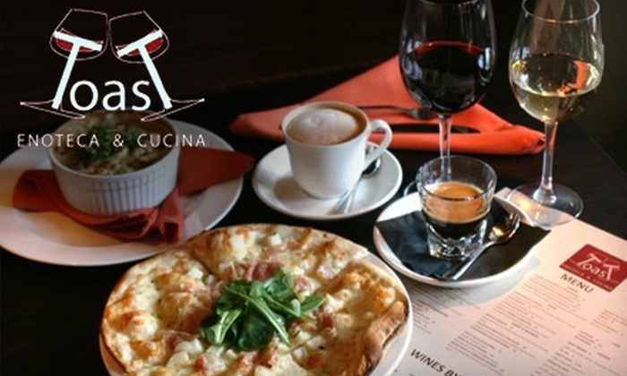 Toast Enoteca & Cucina - East Village: $10 for $25 Worth of Italian Fare and Wine at Toast Enoteca & Cucina