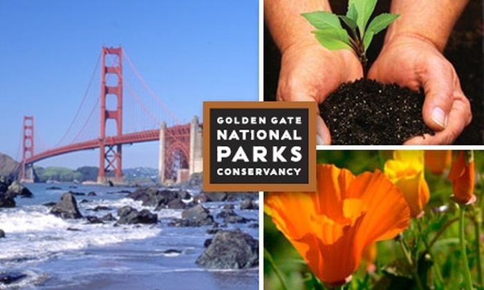 Golden Gate National Parks Conservancy - San Francisco: $17 for a Membership for Two to the Golden Gate National Parks Conservancy ($35 Value)