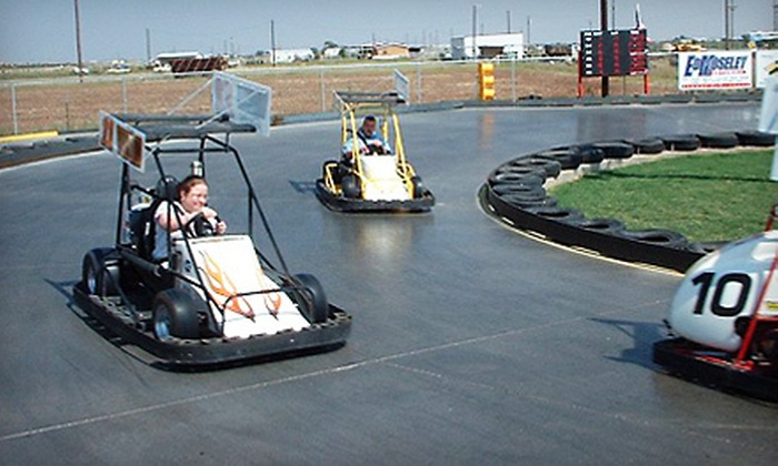 Dave's Need 4 Speed - Lubbock: $10 for Three Rounds of Laser Tag, Cosmic Golf, Go-Karts, or Dirt-Track Simulators at Dave's Need 4 Speed ($21 Value)