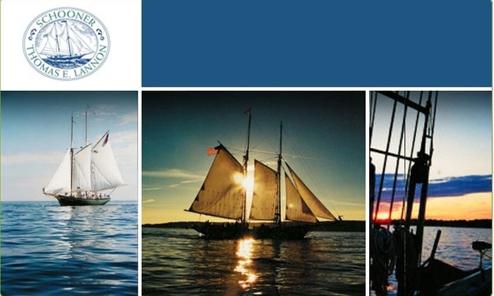 Schooner Thomas E. Lannon - Gloucester: $20 for Two-Hour Sail Aboard a Schooner ($37.50 Value)