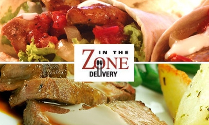 In the Zone - Tulsa: $65 for Three Days of Freshly Prepared Breakfast, Lunch, Dinner, and Snacks from In The Zone Delivery (Up to $165 Value)
