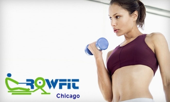 Rowfit Chicago - Goose Island: $50 for One-Month Membership to Rowfit Chicago ($120 Value)