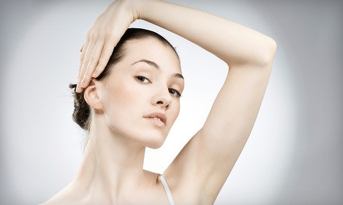Versailles Medical Spa - Darien: $99 for Three Laser Hair-Removal Treatments for One Small Area at Versailles Medical Spa in Darien (Up to $450 Value)