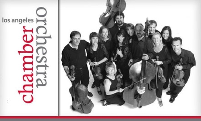 Los Angeles Chamber Orchestra - Los Angeles: $25 for One Ticket to the Los Angeles Chamber Orchestra ($50 Value). Buy Here for 7 p.m., January 24, 2010, at Royce Hall. See Below for Additional Dates, Venues, and Seating.