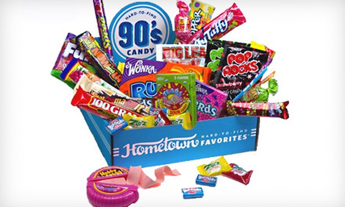 Decade Themed Candy Box: $24 for a 1990s Decade Candy Gift Box ($34.95 Value)