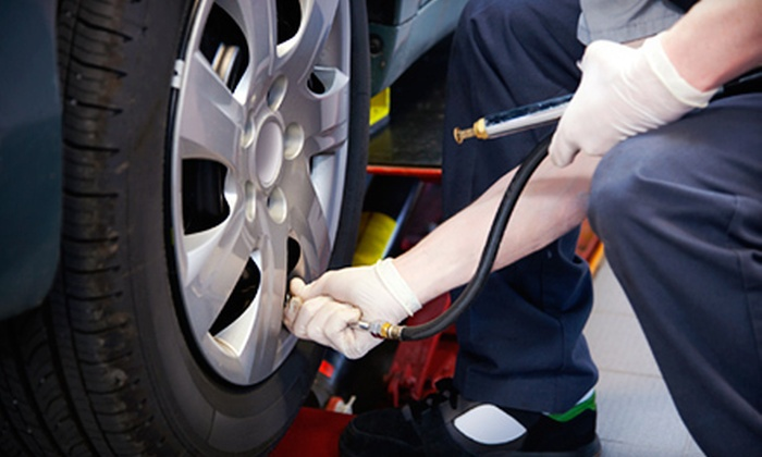 P&E Auto Repair - Rancho Cordova: Front or Rear Brake Pads with Installation or Brake-Pad Installation Package at P&E Auto Repair (Half Off)