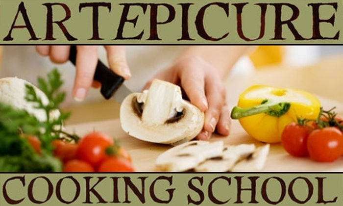 Artepicure Cooking School - Industrial Park: $85 for a Cooking Class at Artepicure Cooking School