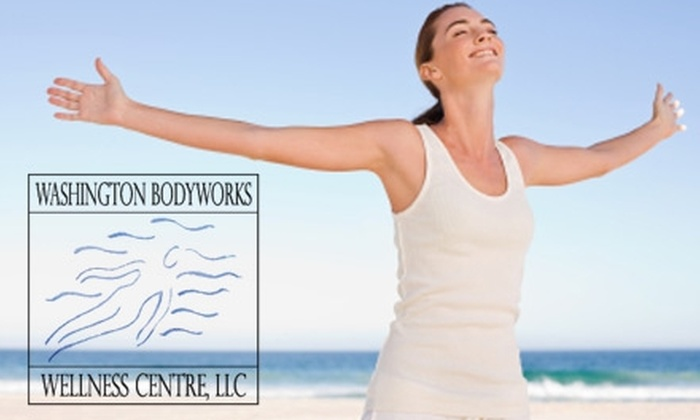 Washington Bodyworks Wellness Centre - Georgetown: $35 for an Infrared Sauna Treatment ($75 Value) or $55 for One Colon Hydrotherapy Treatment (Up to $110 Value) at Washington Bodyworks Wellness Centre