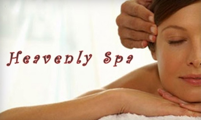 Heavenly Spa - North Reading: Spa Services at Heavenly Spa. Choose from Three Options.