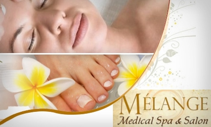 Melange Medical Spa & Salon - Belcaro: $99 for a Beauty-Services Package (Up to $345 Value), Plus Half Off Laser Hair-Removal Packages at Melange Medical Spa & Salon