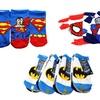 6-Pack of Kids' and Toddlers' Superhero Socks