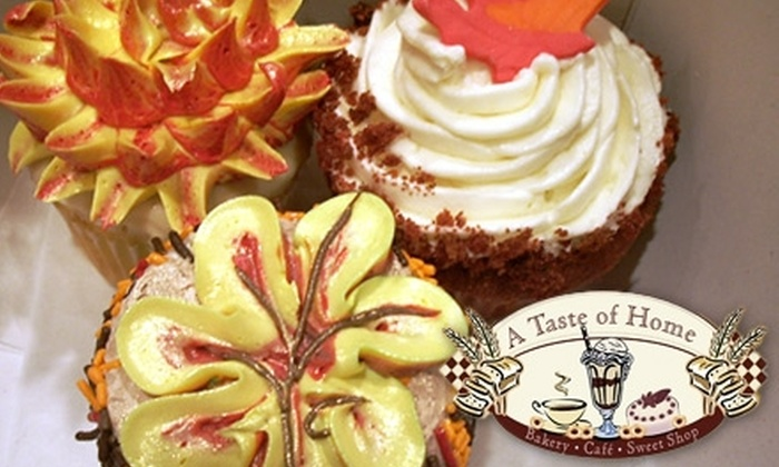 A Taste of Home Bakery, Café and Sweet Shop - North Bellmore: $20 for $40 Worth of Custom Baked Goods and Café Fare at A Taste of Home Bakery, Café and Sweet Shop