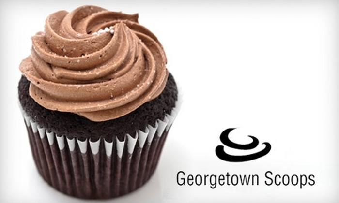 Georgetown Scoops - Georgetown: $9 for $18 Worth of Desserts and Coffee at Georgetown Scoops