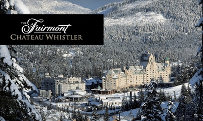 The Fairmont Chateau Whistler - Seattle: $249 for One-Night Stay, Plus $50 Food and Beverage Credit, at The Fairmont Chateau Whistler ($499 Value)