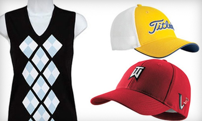 Uinta Golf - Multiple Locations: $15 for $30 Worth of Golf Apparel at Uinta Golf