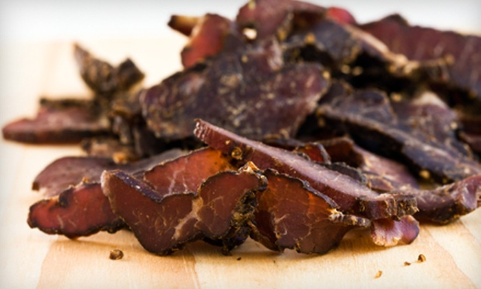 JustaJerky Gourmet Beef Jerky: Three-Month, Six-Month, or One-Year Subscription to Jerky of the Month Club from JustaJerky Gourmet Beef Jerky