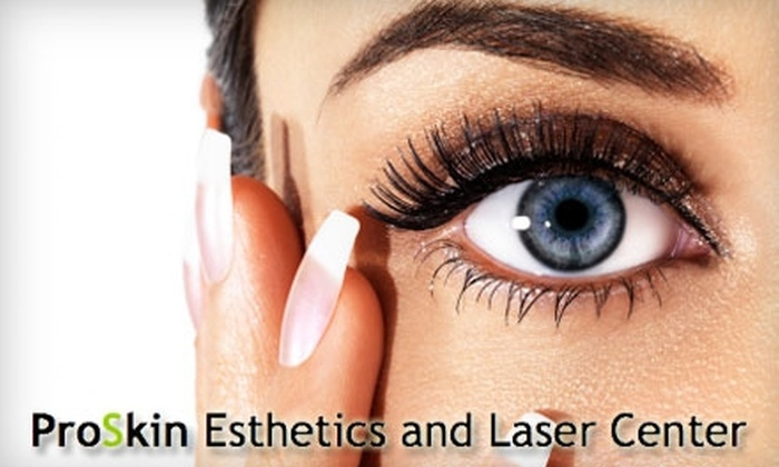ProSkin Esthetics and Laser - Summit Hill: $89 for a Full Set of Eyelash Extensions from ProSkin Esthetics and Laser Center ($200 Value)