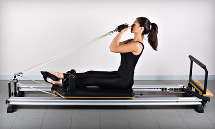 The Pilates Scoop - Naples: $57 for Three Pilates Equipment Classes ($114 Value) or $90 for Six Pilates Equipment Classes ($213 Value) at The Pilates Scoop