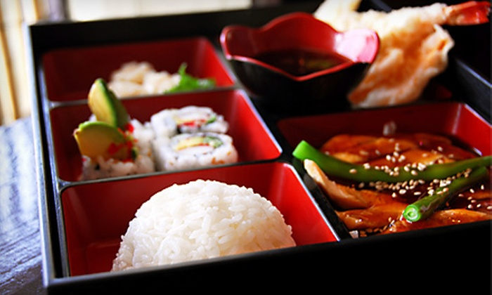 Sansui Restaurant and Sushi Bar - Carmel: $27 for a Three-Course Sushi Meal with Drinks for Two at Sansui Restaurant and Sushi Bar in Carmel (Up to $63.20 Value)