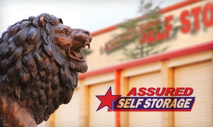 Assured Self Storage - Multiple Locations: $30 for $100 Worth of Storage and Storage Supplies at Assured Self Storage