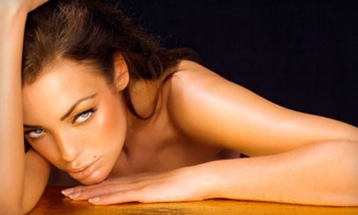 The Tanning Club - Westwood: $39 for Four Mystic Tans or 10 Tanning-Bed Sessions at The Tanning Club in Westwood