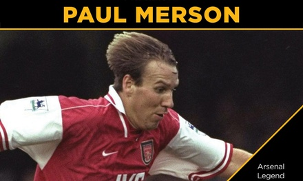 An Evening with Paul Merson: Entry for One or Two on 6 December at Mr Kyps, Poole (Up to 42% Off)